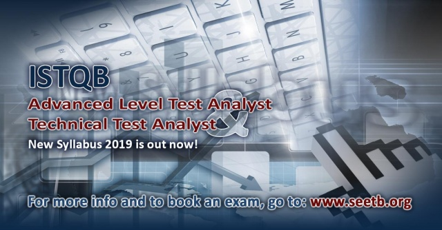 ISTQB releases new Advanced Level Test Analyst and Technical Test Analyst Syllabus 2019 exams!
