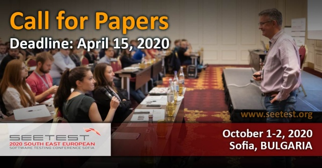 Call for papers for SEETEST 2020 is now open!